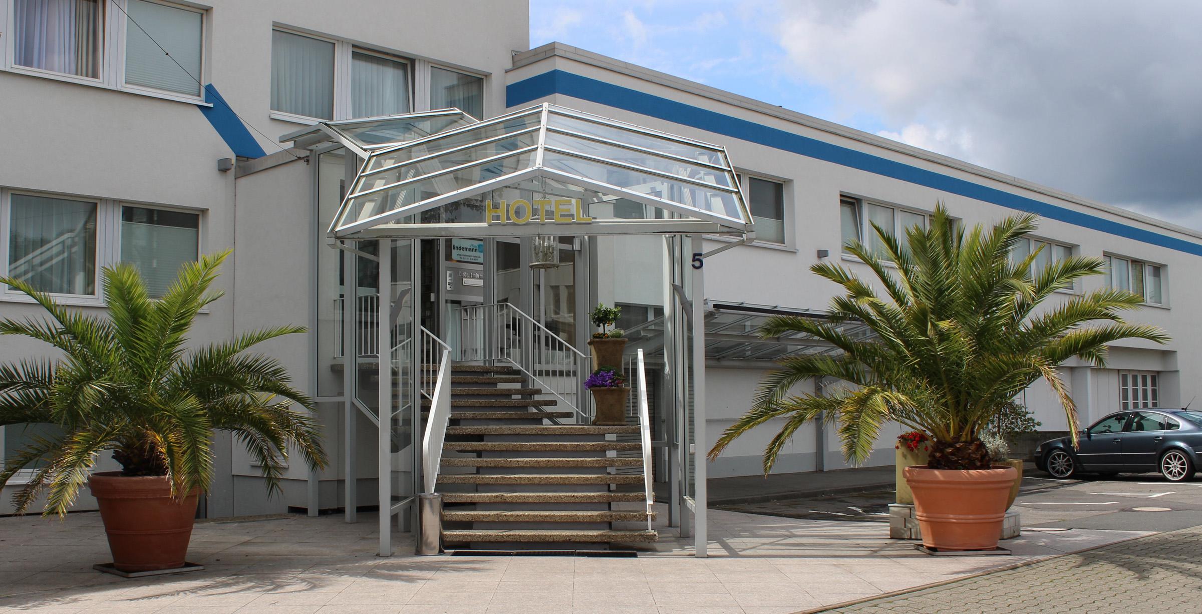 Lindemann Hotel Eingangsbereich